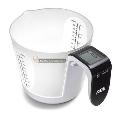 ADE KE 919 franca levehető edényű 3kg/1g digitális konyhai mérleg
