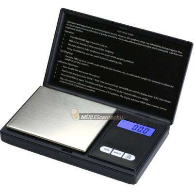 ES-100AX (100g/0,01g) digitális precíziós zsebmérleg, gramm mérleg, ékszermérleg