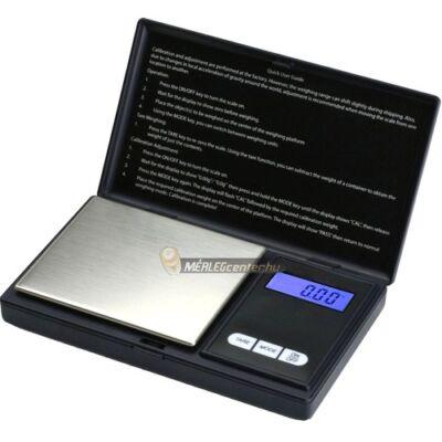 ES-500AX (500g/0,01g) digitális precíziós zsebmérleg, gramm mérleg, ékszermérleg
