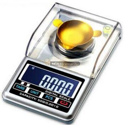 HA-50 (50g/0,001) digitális asztali precíziós ékszermérleg, ezredgrammos osztású zsebmérleg