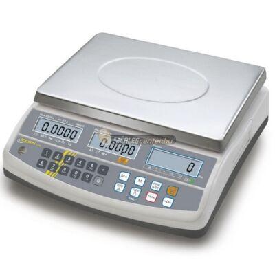 KERN CFS 15K0.2 (15000g/0,2g) darabszámláló memóriás (100 cikknek) digitális asztali mérleg 3évG