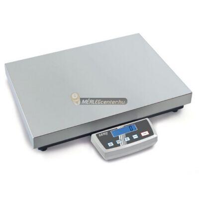 KERN DE 300K50DL (300kg/50g) IP65 650x500mm platform- csomagmérleg kisállatmérő, darabszámláló, százaléksz. 2évG
