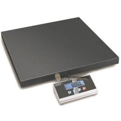 KERN EOE 300K100L (300kg/100g) 550x550 mm platform- csomagmérleg kisállat és darabsz. funkcióval 2évG
