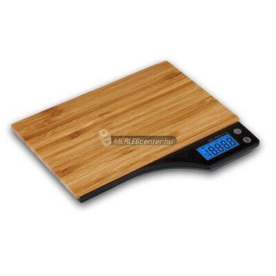Kabalo bambusz 5kg/1g digitális konyhai mérleg