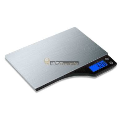 Kabalo rozsdamentes acél 5kg/1g digitális konyhai mérleg
