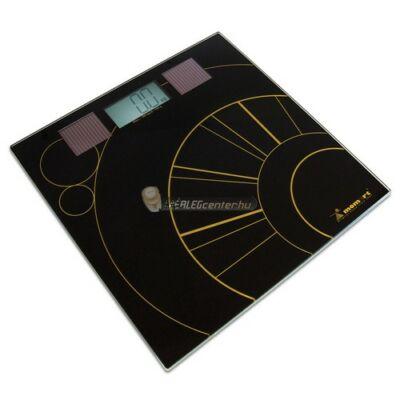 Momert 5864 digitális napelemes személymérleg, 180 kg-ig