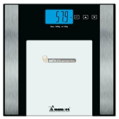 Momert 5875 digitális személymérleg, testzsír/testvíz méréssel