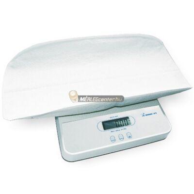 Momert 6420 digitális kétfunkciós csecsemő és gyermekmérleg 20kg/10g, levehető tállal