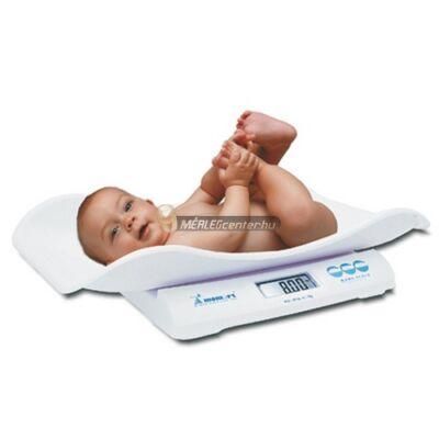 Momert 6475 digitális kétfunkciós csecsemő és gyermekmérleg 20kg/10g, levehető babatállal