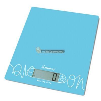 Momert 6860 (5kg/1g) egyedi mintás konyhai mérleg