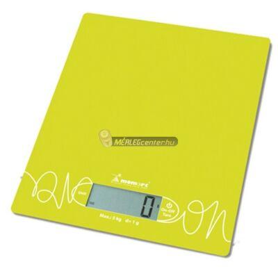 Momert 6855 (5kg/1g) egyedi mintás konyhai mérleg