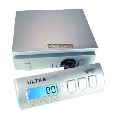 MyWeigh UltraShip-35 (16kg/2g) digitális posta-, levél- és csomagmérleg adapterrel