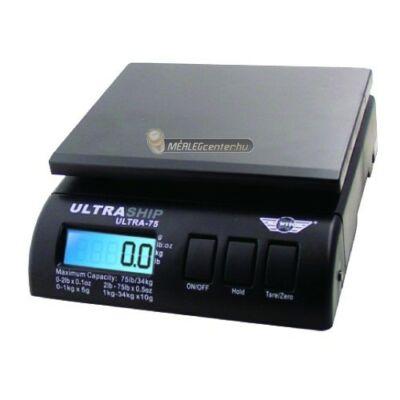 MyWeigh UltraShip-55 (25kg/2g) digitális posta-, levél- és csomagmérleg adapterrel