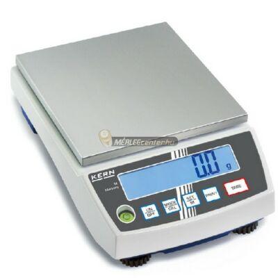 KERN PCB 6000-0 (6000g/1g) digitális asztali mérleg - 3 év garancia