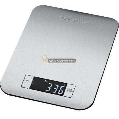 ProfiCook 1061 5kg/1g ultravékony rozsdamentes acél konyhai mérleg