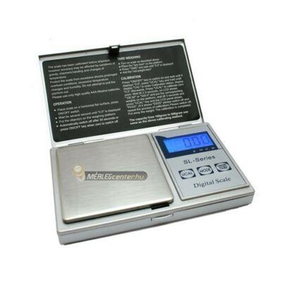 SL-300A (300g/0,01g) digitális precíziós zsebmérleg, gramm mérleg