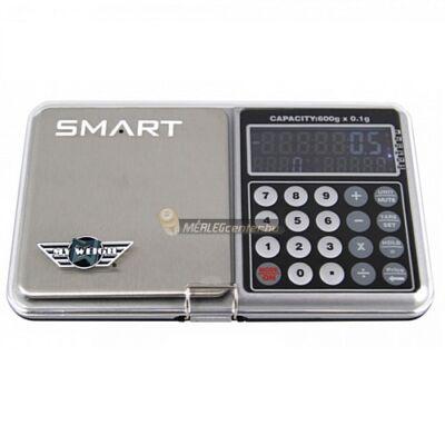 MyWeigh Smart  digitális precíziós zsebmérleg, gramm mérleg, ékszermérleg számológép, hőmérő és óra funkcióval