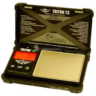 TRITON T3 400g/0,01g digitális precíziós zsebmérleg ékszermérleg gramm mérleg masszív házban 2 év garancia