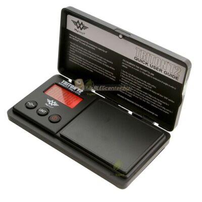 TRITON T2 200g/0,01g digitális precíziós zsebmérleg, ékszermérleg, gramm mérleg 2 év garancia