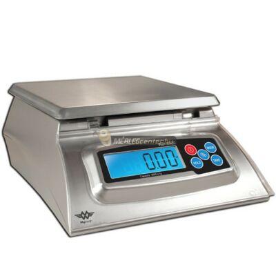 MyWeigh KD-8000 (8 kg/1g) rozsdamentes acél tálcás digitális konyhai mérleg százalékszámítással